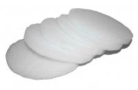 135mm Rundfilter G3 weiß passend für Abluftventil (Ersatz passend für EVFG3)