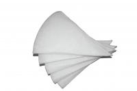 Kegelfilter G3 passend für Ablufttellerventile DN125 (5 Stück)