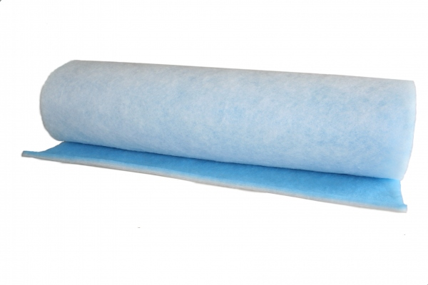 filtermatte g3 blau wei 18mm stark 190g m preis pro. Black Bedroom Furniture Sets. Home Design Ideas